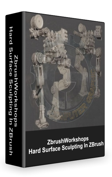 آموزش ZbrushWorkshops - Hard Surface Sculpting In ZBrush