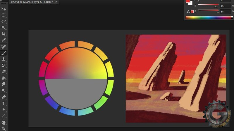 Concept Art Color Theory