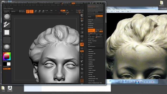 آموزش ZBrushworkshops - Female Face Sculpting with Steve Lord