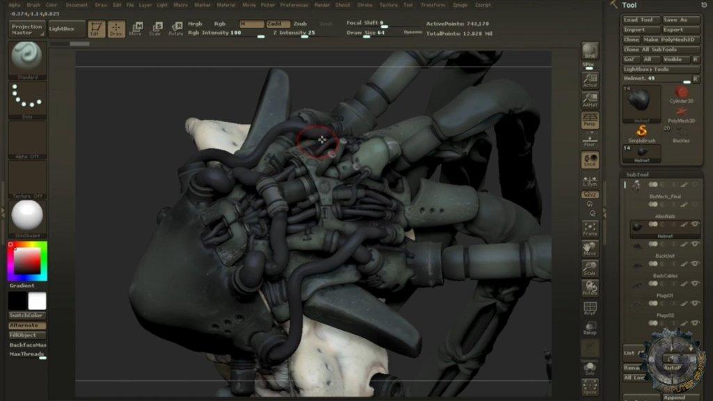 آموزش Gumroad - Character Creation in ZBrush