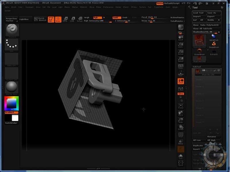 آموزش The Gnomon Workshop - Introduction to ZBrush 4 With Scott Spencer