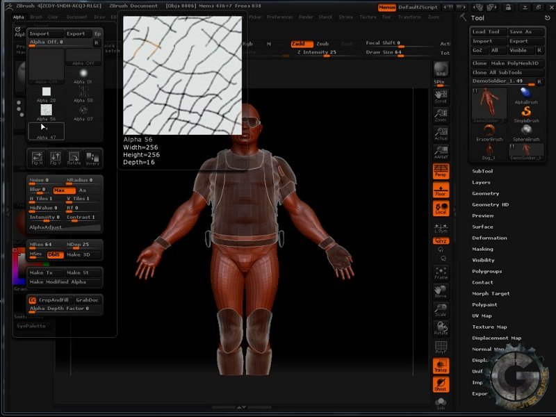 آموزش The Gnomon Workshop - Introduction to ZBrush 4 With