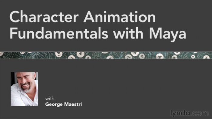 آموزش Lynda - Character Animation Fundamentals with Maya with George Maestri