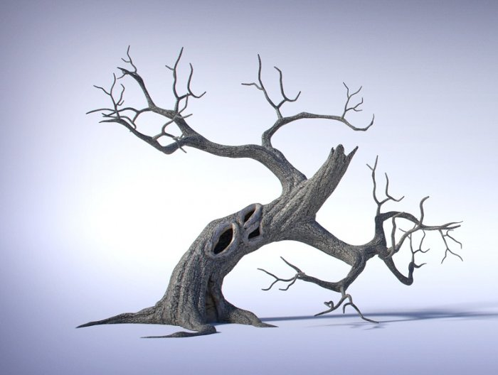 آموزش CGCookie - Creating a Spooky Tree