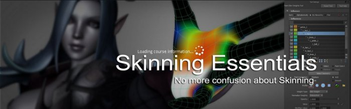 آموزش CGcircuit - Skinning Essentials