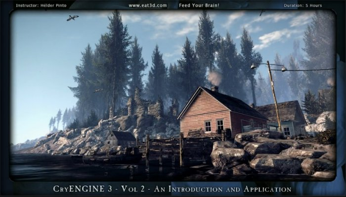 آموزش Eat3D - CryENGINE 3 - Vol 2 - An Introduction and Application