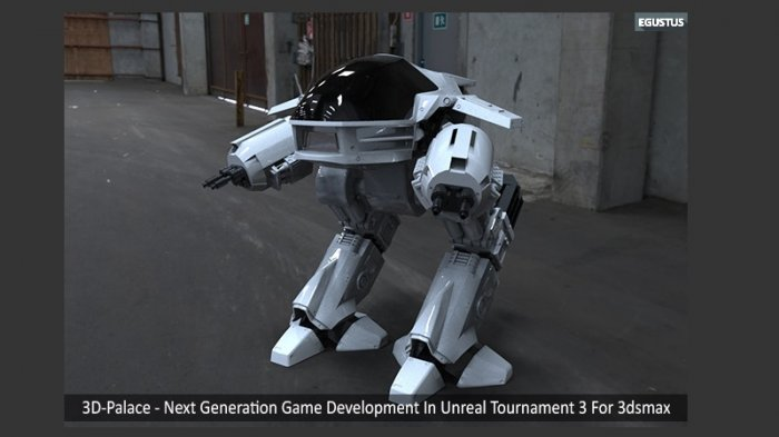 آموزش 3D-Palace - Next Generation Game Development In Unreal Tournament 3 For 3ds max Volume 1-4