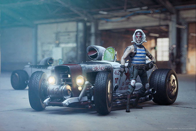 آموزش The Gnomon Workshop - Introduction to Substance Painter with Christophe Desse