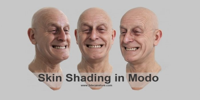 آموزش Ten24 - Modo Skin Shader Tutorials
