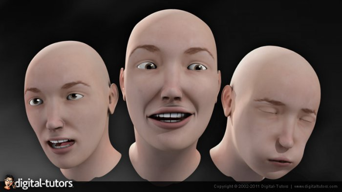 آموزش Digital Tutors - Facial Animation in Maya 2012