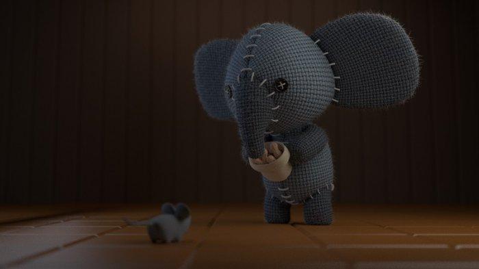 آموزش ایجاد یک شخصیت فیل کوچولو ناز در بلندر CGCookie - Create a Cute Little Elephant Character in Blender