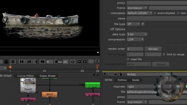 آموزش Digital Tutors - Compositing a Live-Action Matte Painting in NUKE and Photoshop