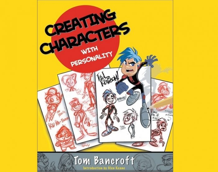 کتاب طراحی Penguinrandomhouse - Creating Characters with Personality