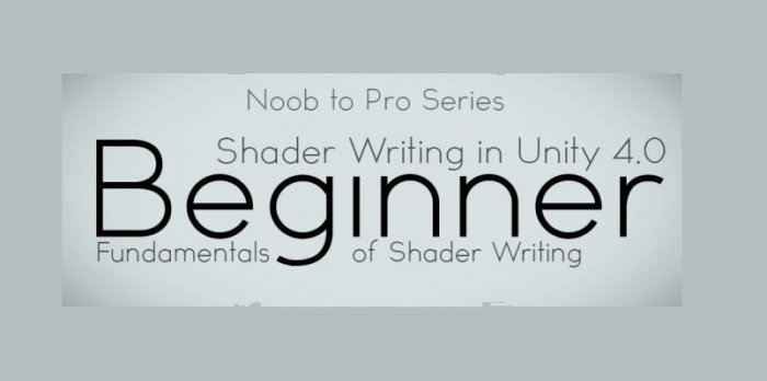 آموزش CGCookie - Noob to Pro Shader writing for Unity 4 - Beginner