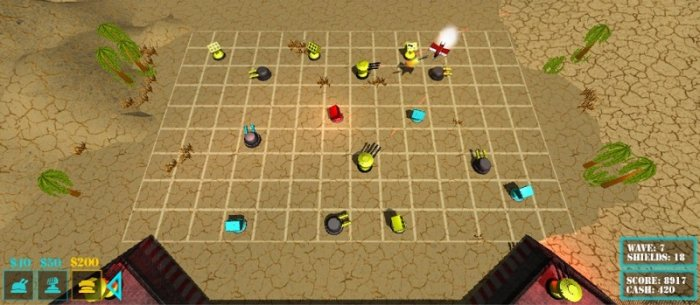 آموزش CGCookie - Creating a Tower Defense Game
