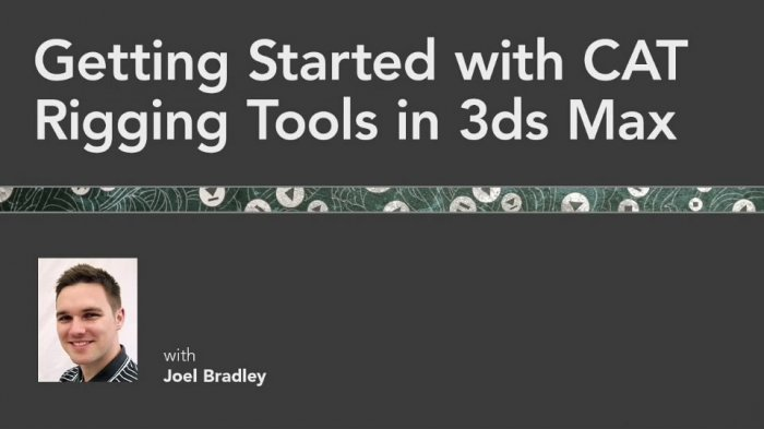 آموزش Lynda.com - Getting Started with CAT Rigging Tools in 3ds Max
