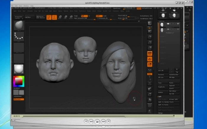 آموزش Gumroad - Quick Sculpting The Human Face Bundle With ZBrush