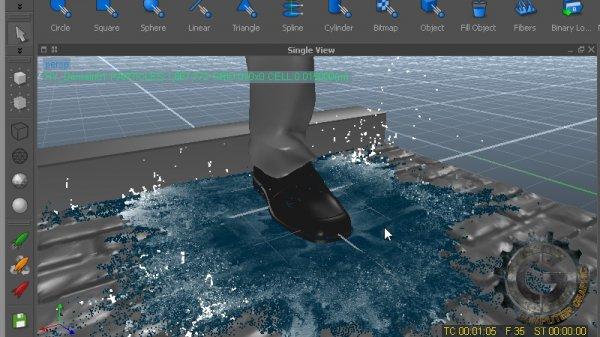 آموزش Digital Tutors - Creating Slow Motion Fluid Effects in RealFlow