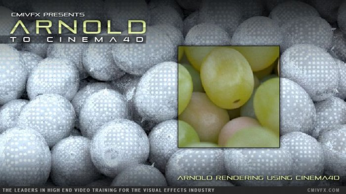 آموزش cmiVFX - Arnold To Cinema 4D