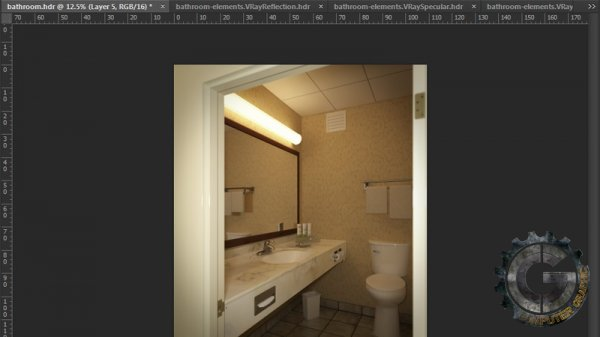 دانلود رایگان آموزش Digital Tutors - Creating a Bathroom Visualization in 3ds Max and V-Ray