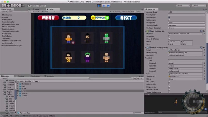 master unity by building 6 fully featured games from scratch free