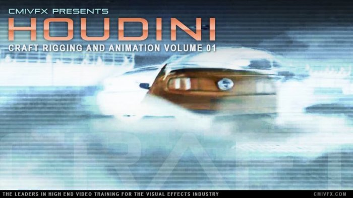 آموزش cmiVFX - Houdini Craft Rigging and Animation - Volume 1