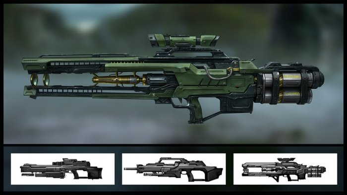 آموزش Digital Tutors - Designing Gun Concepts for First Person Shooters in Maya and Photoshop