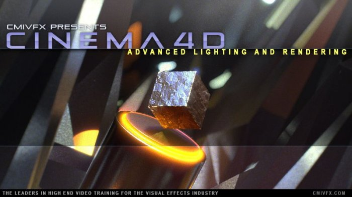 آموزش cmiVFX - Cinema 4D Advanced Lighting and Rendering