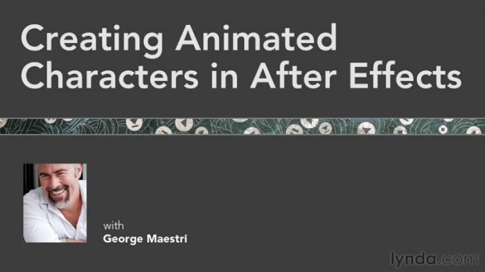 آموزش Lynda - Creating Animated Characters in After Effects with George Maestri