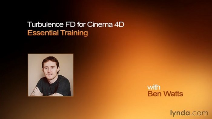 آموزش Lynda - TurbulenceFD for CINEMA 4D Essential Training with Ben Watts