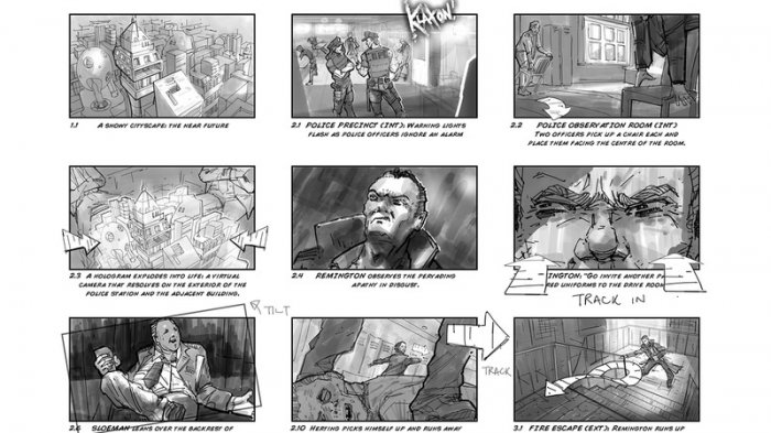 آموزش Digital Tutors - Drawing Storyboards for the Entertainment Industry in Photoshop