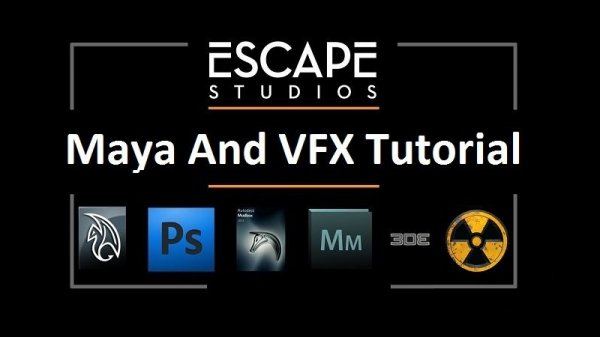 دانلود پک آموزشی Escape Studios – Maya And VFX Tutorial