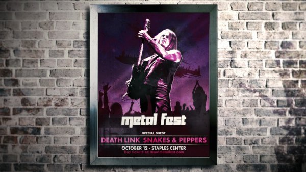 آموزش Digital Tutors - Designing a Concert Poster in Photoshop