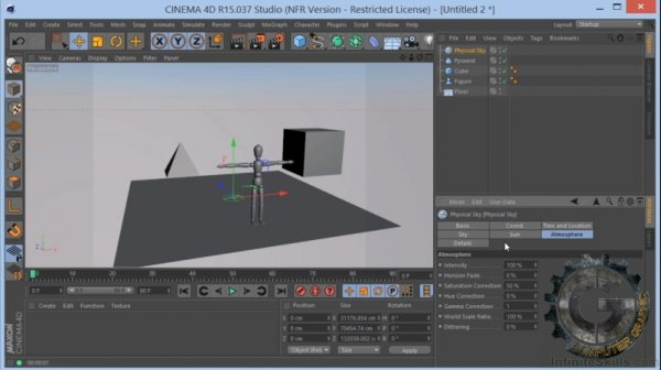 آموزش  Infiniteskills – Learning Maxon Cinema 4D R15 Training