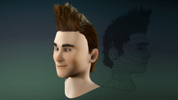 آموزش Digital Tutors - Introduction to Shave and a Haircut for Maya 2007