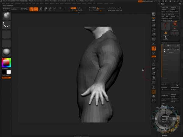دانلود آموزش ZBrushWorkshops - Introduction to Character Creation for Games
