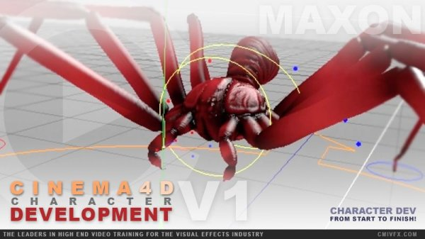 آموزش cmiVFX - Cinema 4D Character Development - Volume 1