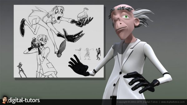 دانلود آموزش Digital Tutors - Creating Cartoon Characters in 3ds Max