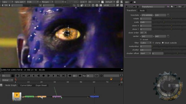 آموزش Digital Tutors - 3D Assisted Facial Morphing in CINEMA 4D and NUKE