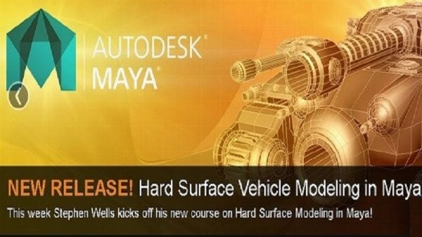 آموزش 3DMotive - Hard Surface Vehicle Modeling in Maya Volume 1
