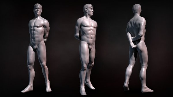آموزش Digital Tutors - Sculpting the Human Body in ZBrush