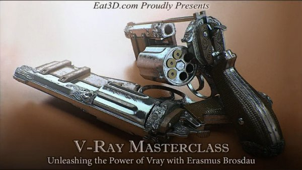آموزش Eat3D - V-Ray Masterclass - Unleashing the Power of V-Ray