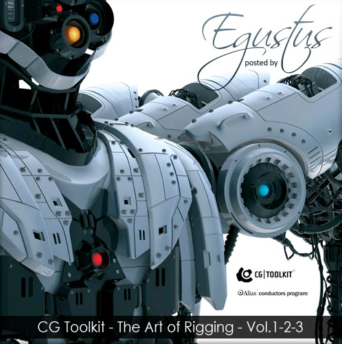 آموزش CG Toolkit - The Art of Rigging Vol 1-2-3