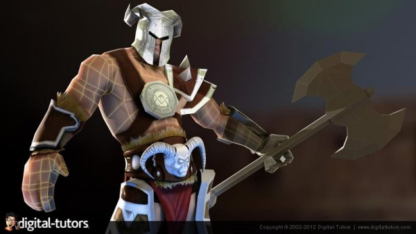 آموزش Digital Tutors - Texturing Low Polygon Game Characters in Photoshop