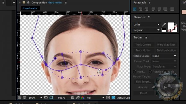 آموزش Digital Tutors - Sci-fi Digital Makeup Using Facial Tracking in After Effects