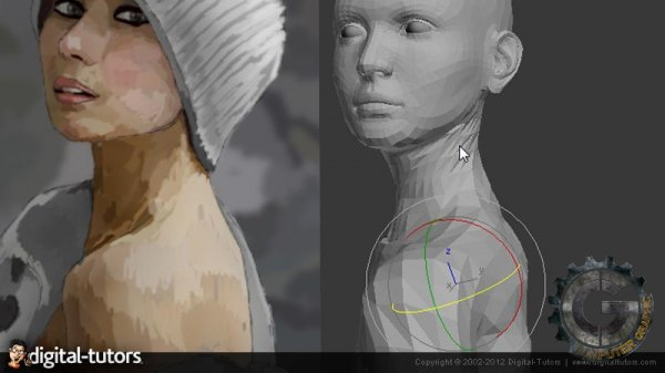 آموزش Digital Tutors - Rendering a Photorealistic Female in 3ds Max