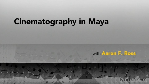 آموزش Lynda - Cinematography in Maya