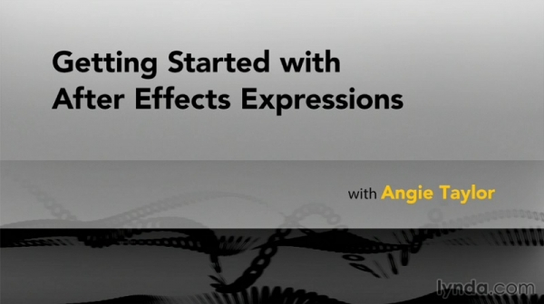 آموزش Lynda - Getting Started with After Effects Expressions - Angie Taylor