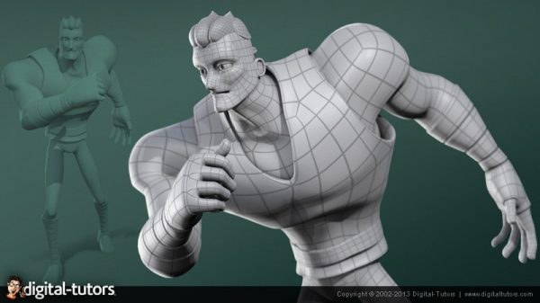 آموزش Digital Tutors - Character Modeling Concepts in 3ds Max