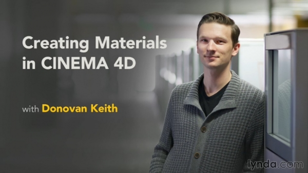 آموزش Lynda - Creating Materials in CINEMA 4D R14